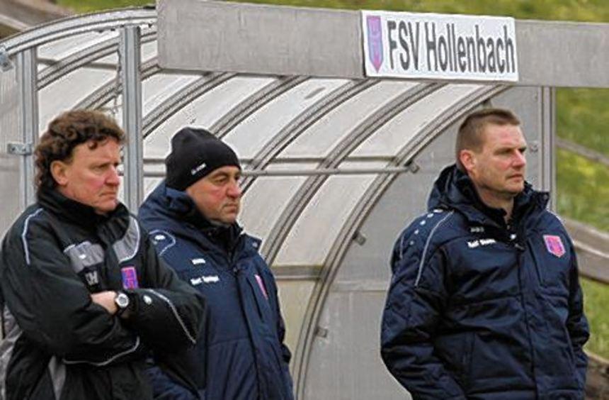 Entspannt gespannt: Klaus Heinle, Kurt Sprügel und Ralf Stehle (v.l.).