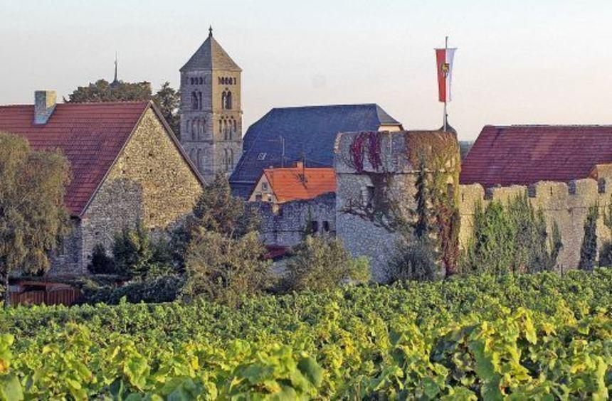 Rheinhessen - ein Landstrich, der dominiert wird von Wein und Geschichte. Das Bild zeigt die ...