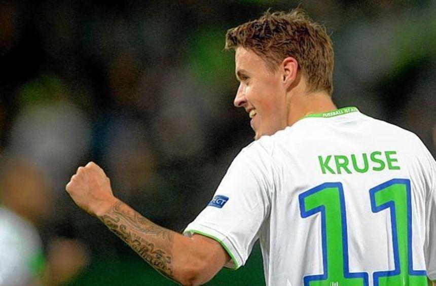 Im Blickpunkt wird bei Wolfsburg Angreifer Max Kruse stehen - ob er nach seinen Eskapaden spielen ...