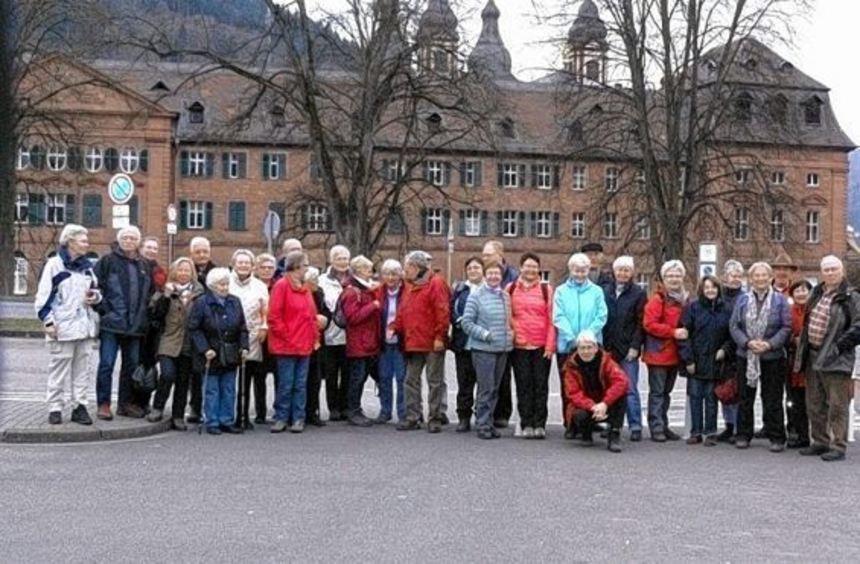 Der Odenwaldklub Bensheim unternahm eine Tour im bayrischen Odenwald.