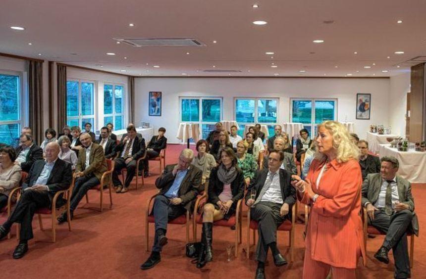 Renate Maria Hannemann referierte bei der Wirtschaftsvereinigung Bensheim darüber, wie die ...