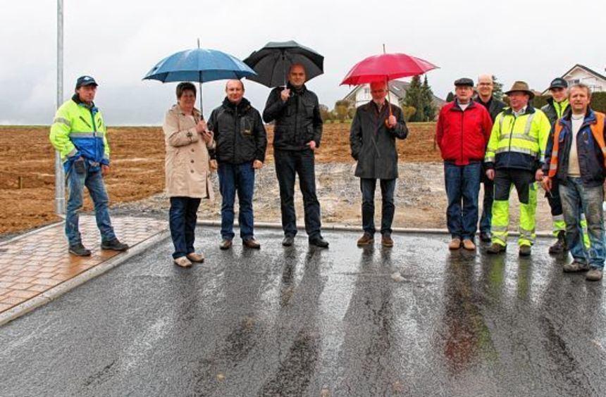 """Sieben Bauplätze umfasst das von der Stadt neu erschlossene Baugebiet """"Matzenklinge II"""" in ..."""
