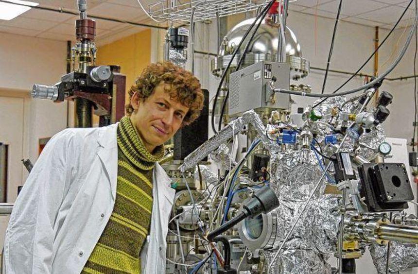 Aus Laiensicht recht futuristisch sieht die von Dr. Matthias May bei seinen Experimenten verwendete ...