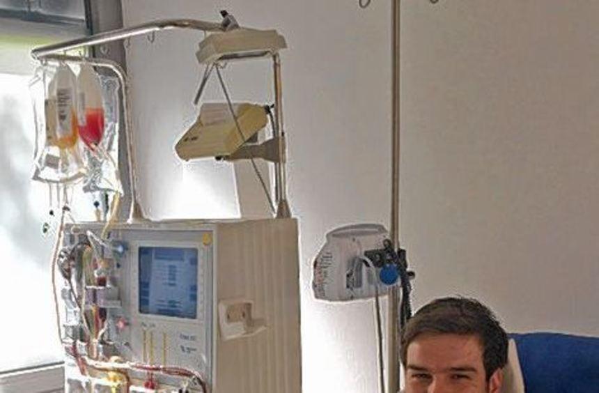 Markus Kehr spendete Stammzellen an einen 18-Jährigen.