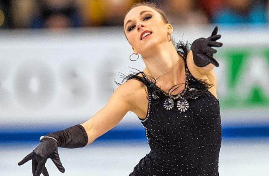 Nur Platz 35 - die Mannheimer Eiskunstläuferin Nathalie Weinzierl hat das Finale bei den ...