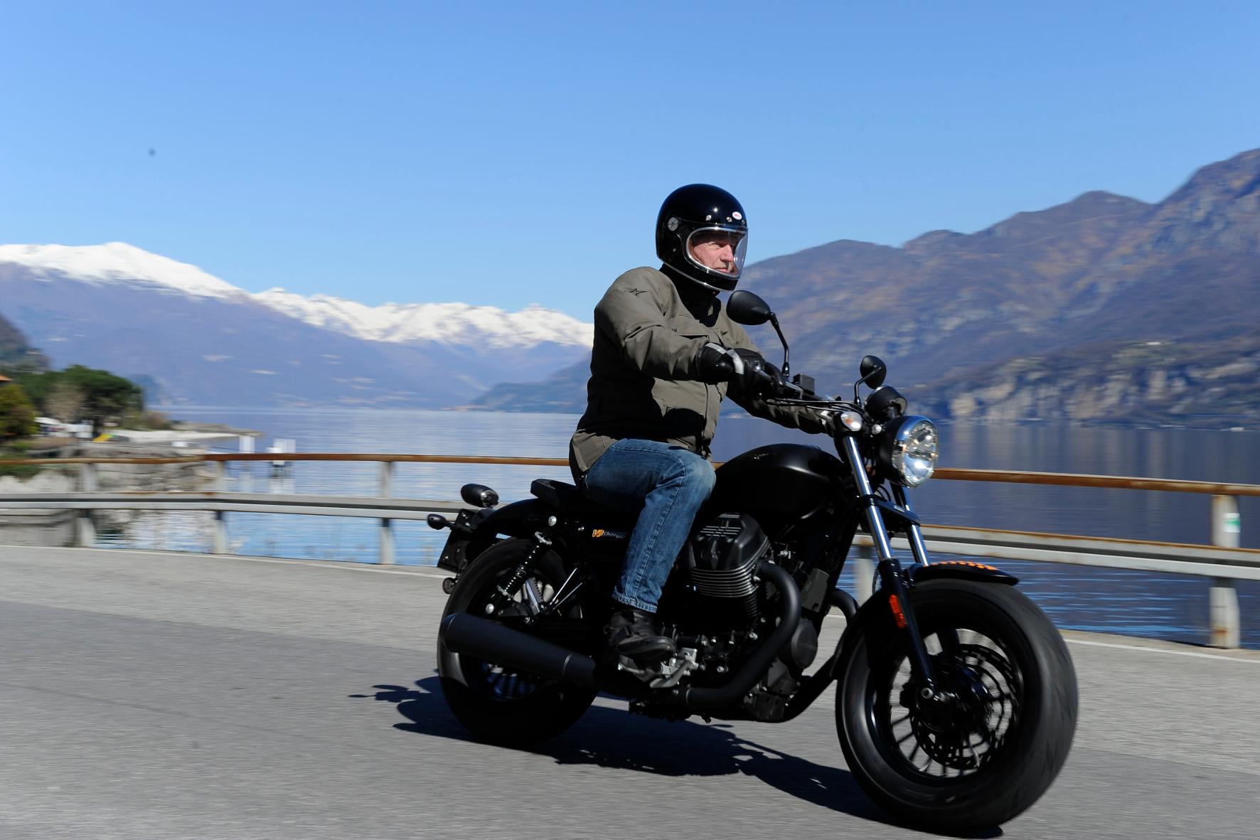 mid Mandello del Lario - Wieder da: Die Traditionsmarke Moto Guzzi wittert Morgenluft.