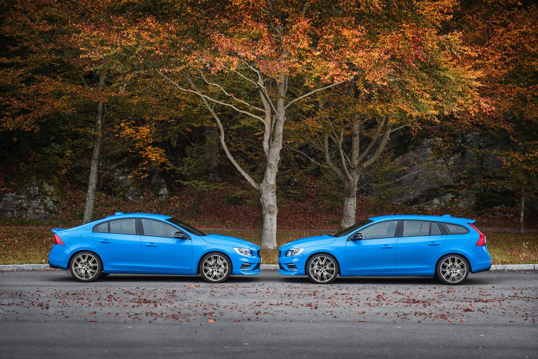 mid Groß-Gerau - Schnelle Volvos: Die Polestar-Versionen von S60 und V60 sind die schnellsten Modelle der Unternehmensgeschichte, sagt Volvo.