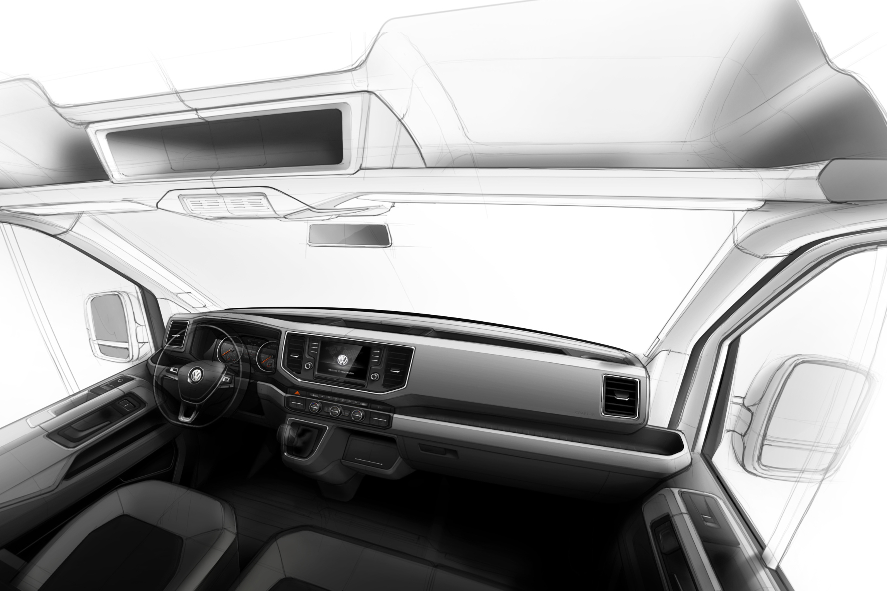 mid Groß-Gerau - Funktional und doch fast wohnlich: VW Nutzfahrzeuge will mit dem im September erscheinenden neuen Crafter einen großen Schritt vorwärts kommen.