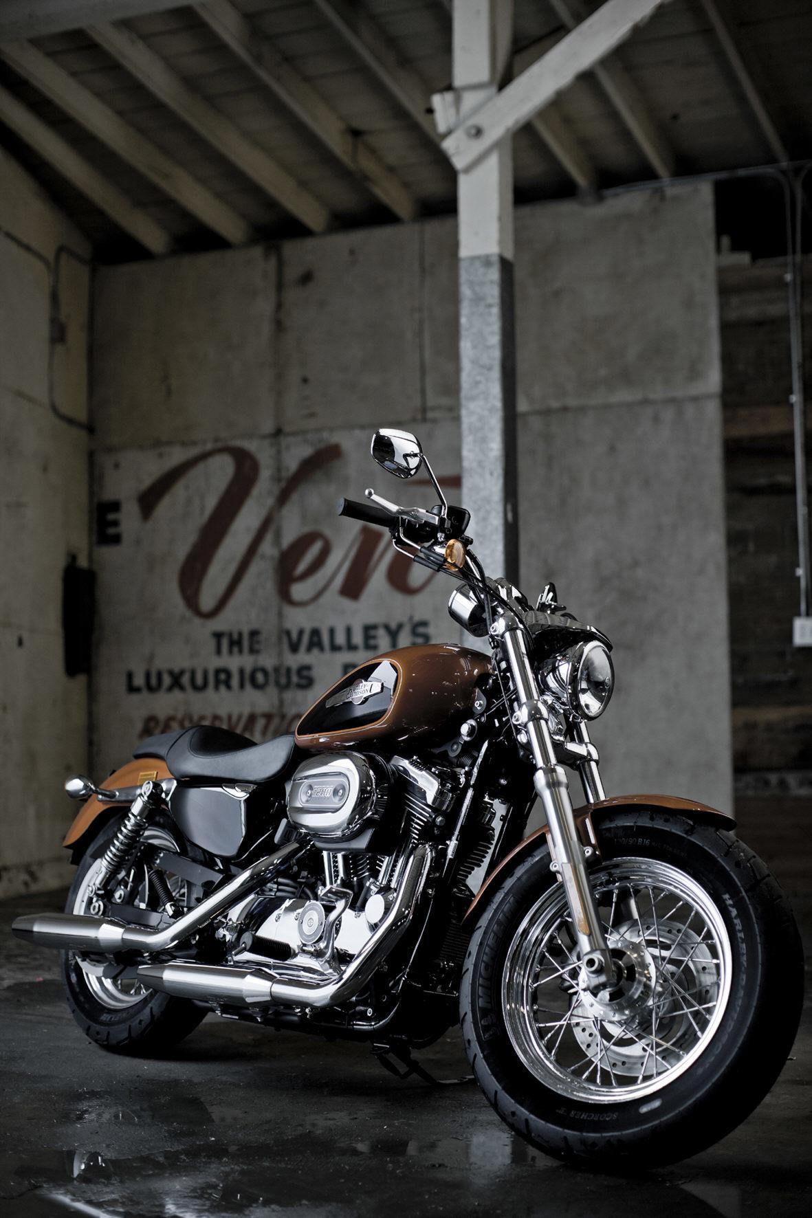 mid Groß-Gerau - Das angesagteste Gebraucht-Bike ist laut Autoscout24 die Harley-Davidson Sportster 1200.