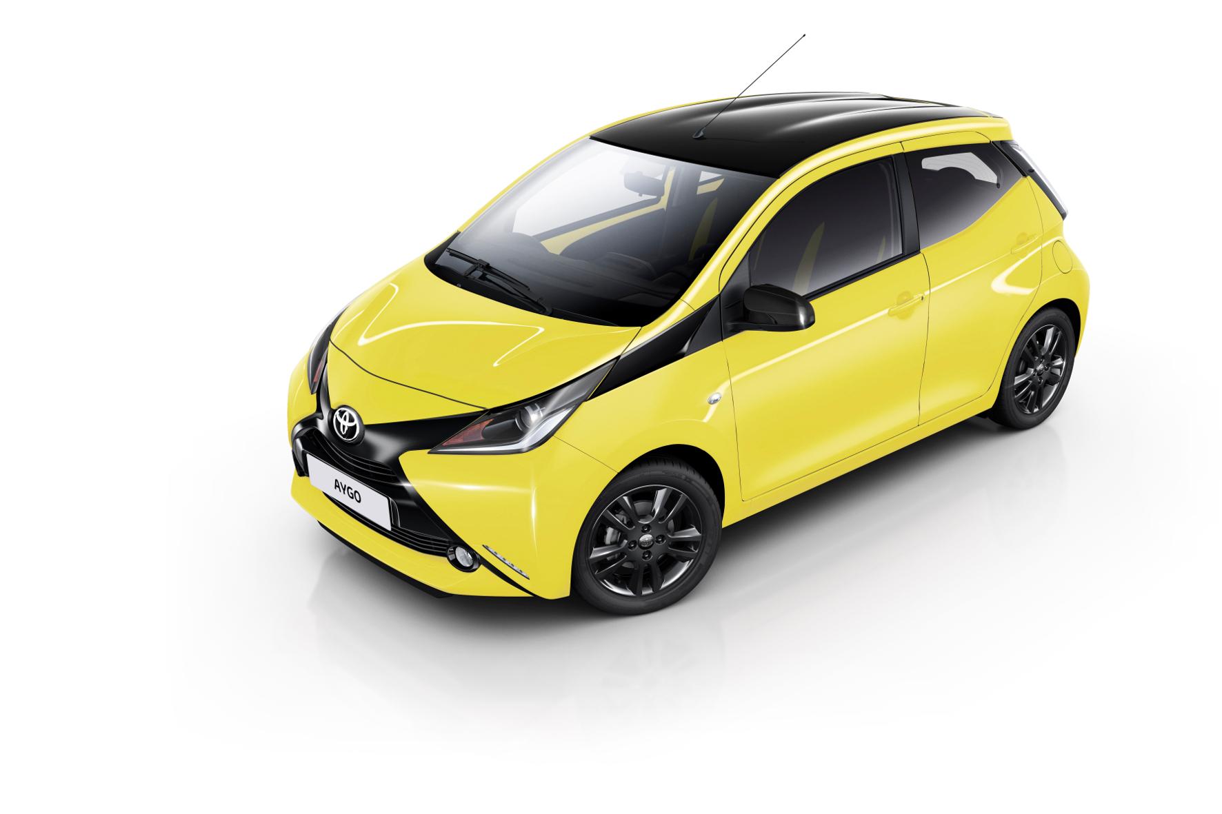 mid Groß-Gerau - Farbenfrohes und wandelbares Sondermodell: der Toyota Aygo x-cite.