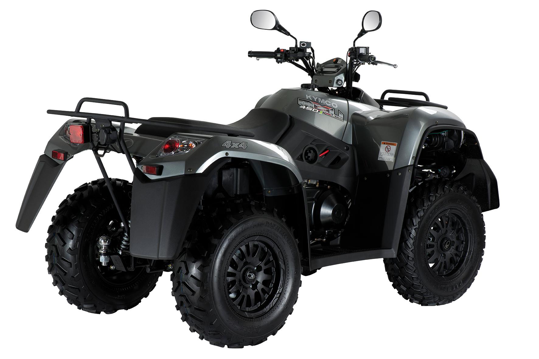 mid Rüsselsheim - Dickes Ding zum kleineren Preis: Den Quad MXU 450i LOF von Kymco gibt es ab sofort für 6.999 Euro und damit einem Preisvorteil von 400 Euro.