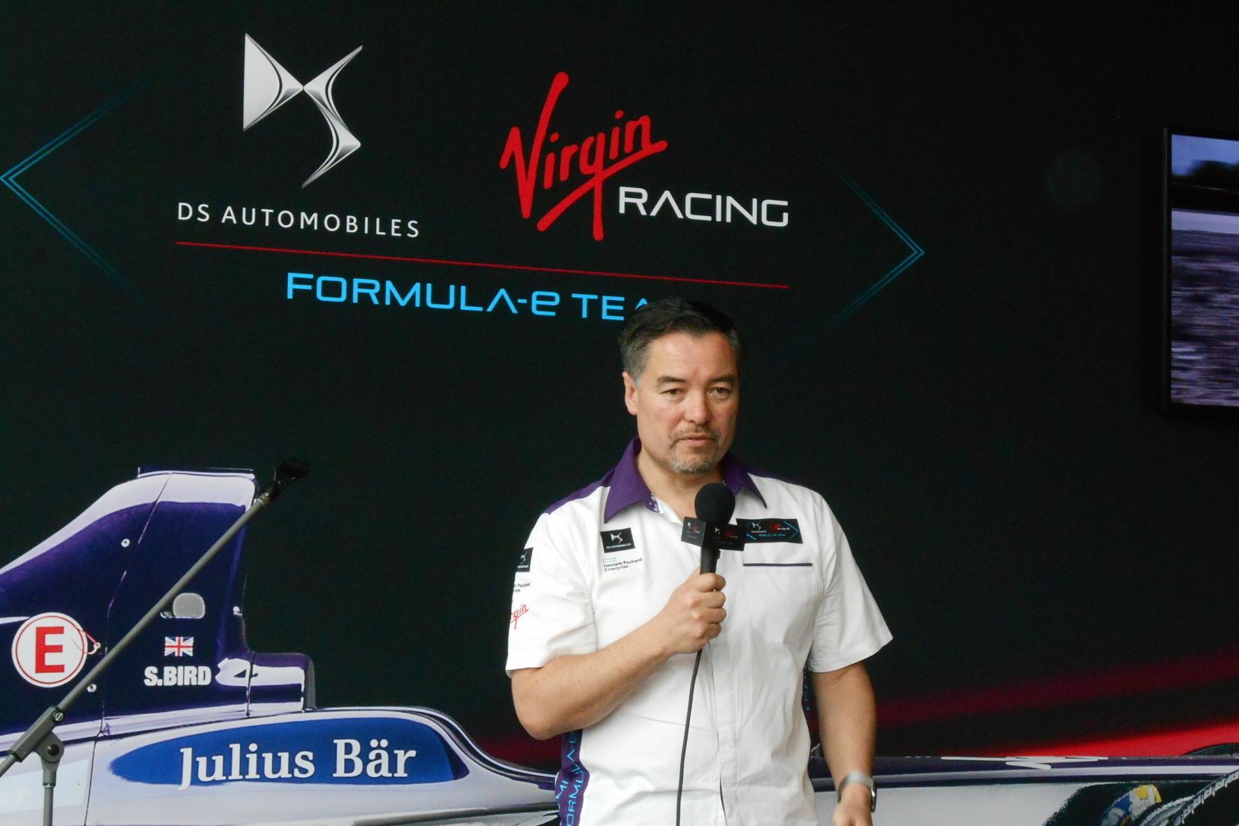 mid Berlin - Alex Tai ist Teamchef bei DS Virgin Racing in der Formel E. Er hat aber auch schon in der Formel 1 gearbeitet.
