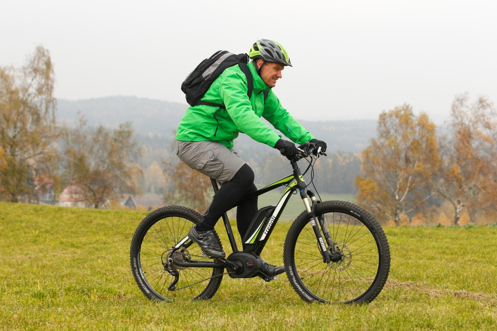 mid Groß-Gerau - Mit dem elektrischen Mountainbike Ruvido XT von Trenoli macht jeder Ausflug ins Freie viel Spaß.