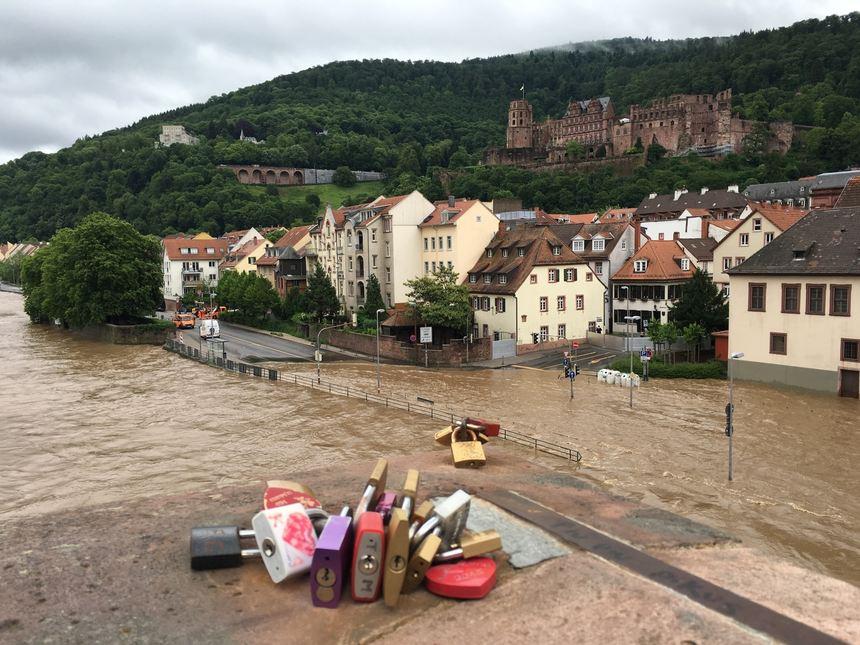 Heidelberg Unwetter