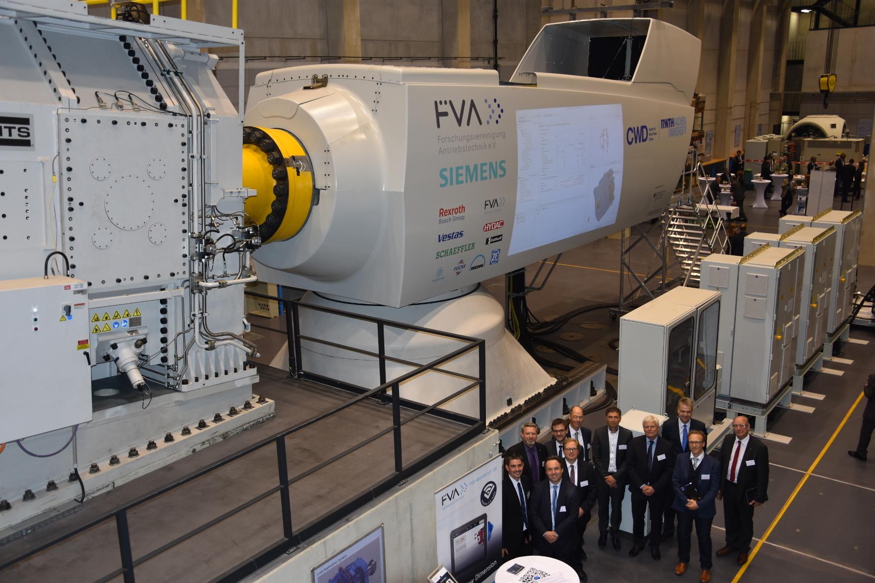 """mid Groß-Gerau - Nach einjähriger Vorbereitungsphase wird die sogenannte """"FVA-Gondel"""" an der RWTH Aachen eingeweiht."""