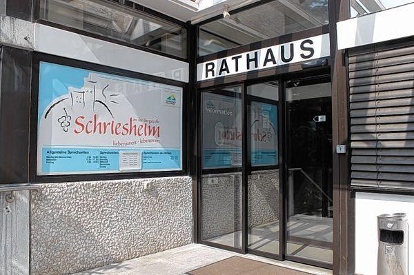 rathaus eingang jetzt barrierefrei schriesheim mannheimer morgen region morgenweb. Black Bedroom Furniture Sets. Home Design Ideas