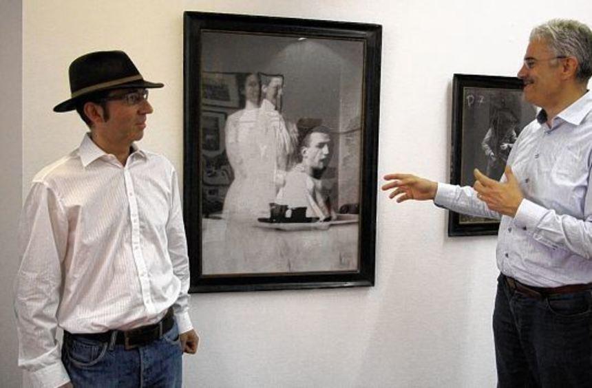 Spannende Ausstellungen: Dr. Raimund Menges (r.) und Claus Bunte.