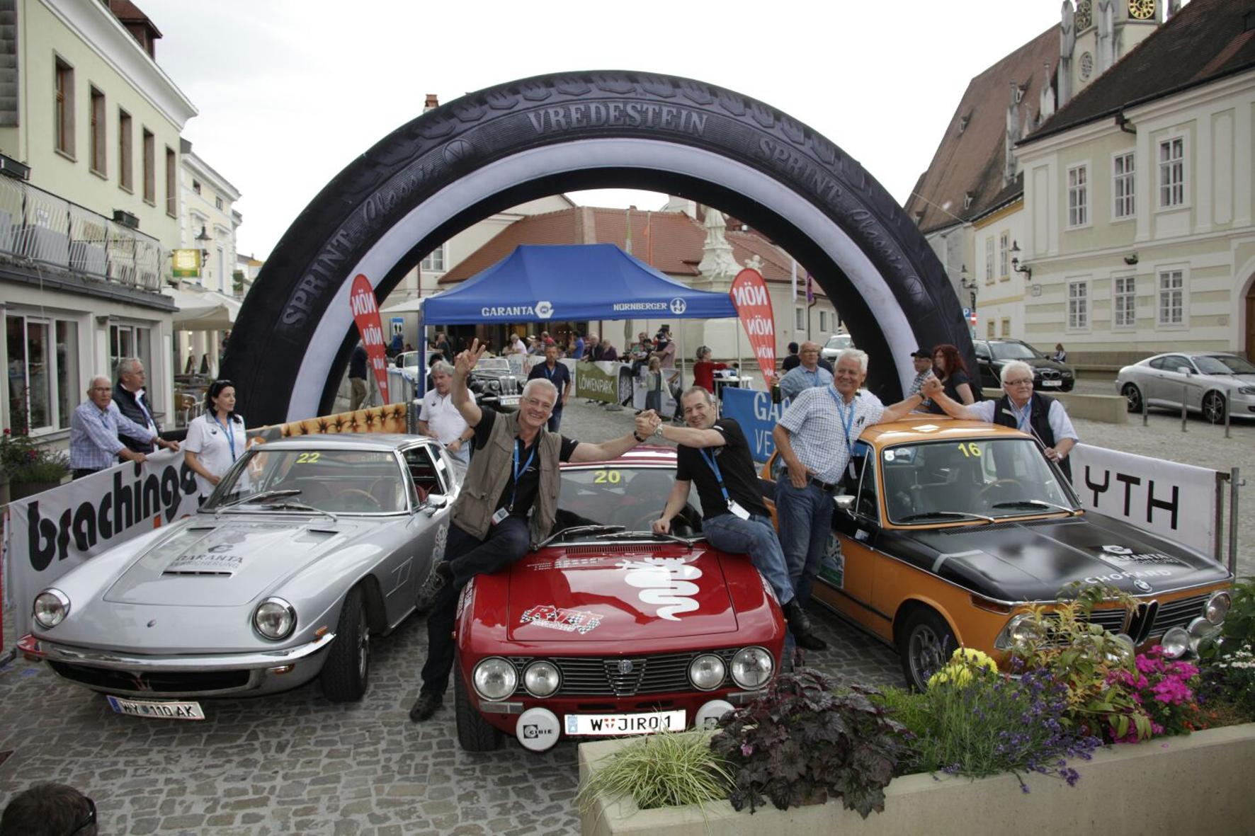 mid Groß-Gerau - Oldies but Goldies: Ein Alfa Romeo 2000 Bertone ist der Gewinner der Wachau Classic 2016.