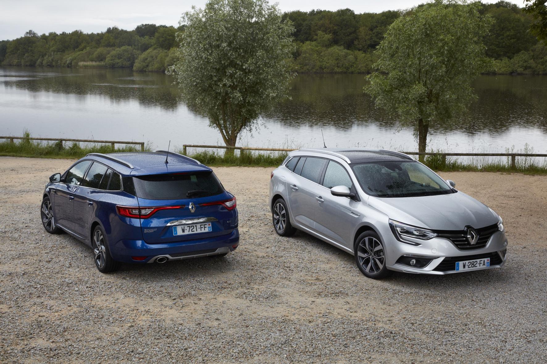 mid Groß-Gerau - Den Renault Mégane Grandtour gibt es in vielen verschiedenen Ausstattungs-Varianten