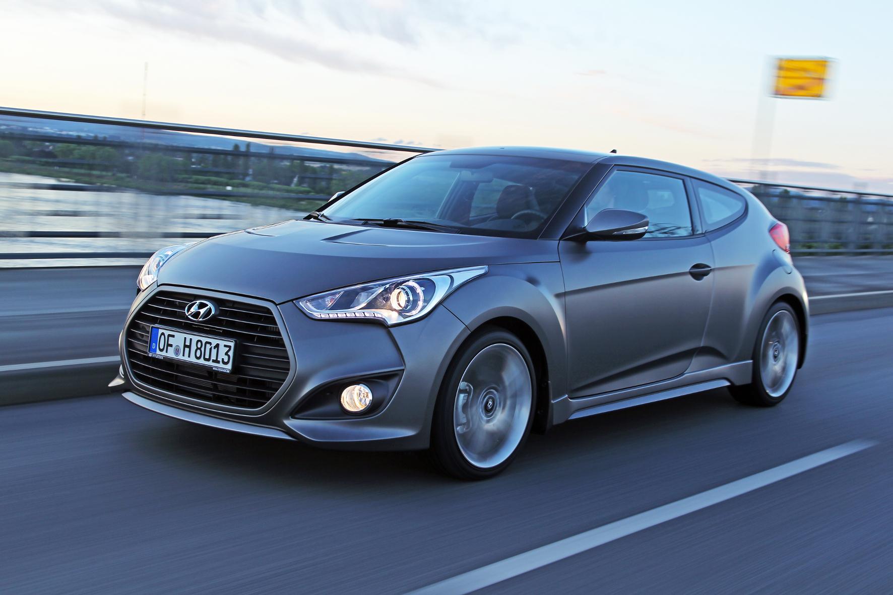 """mid Groß-Gerau: Gestatten: """"Matt Finish"""". Das neue Hyundai-Sondermodell des Veloster Turbo ist auf 150 Exemplare limitiert."""