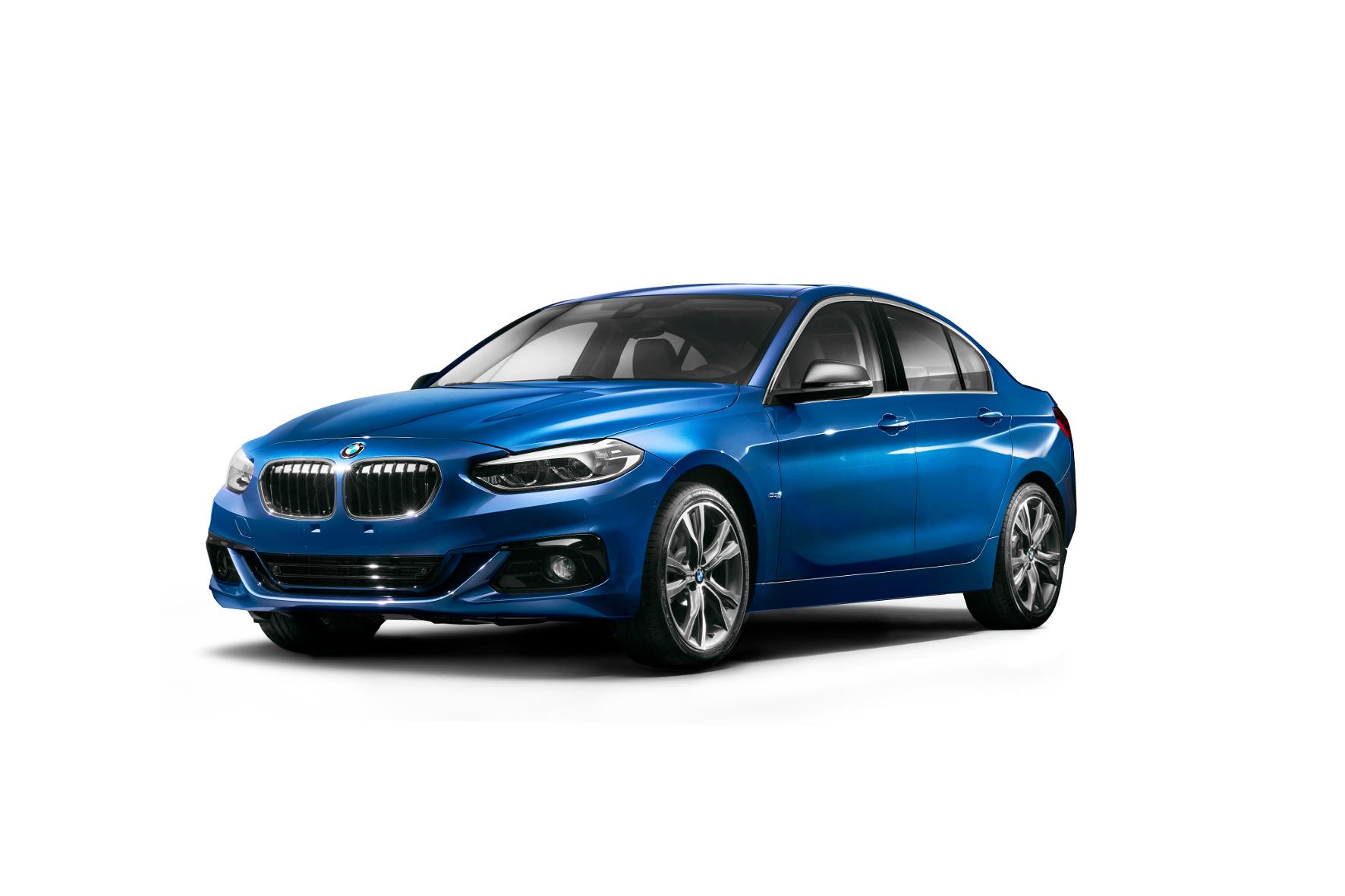 mid Groß-Gerau - Nur schauen, nicht kaufen: Die Limousinen-Variante des BMW 1er gibt es exklusiv nur für China.