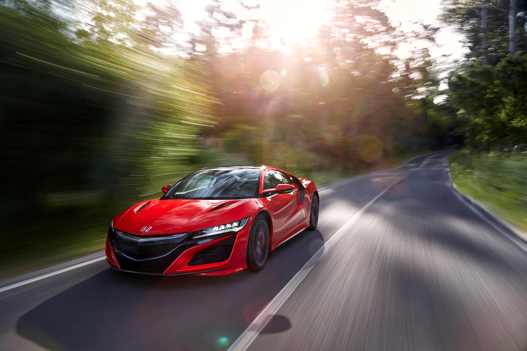 mid Estoril - Die zweite Generation des Supersportlers Honda NSX kommt im September 2016 nach Deutschland.