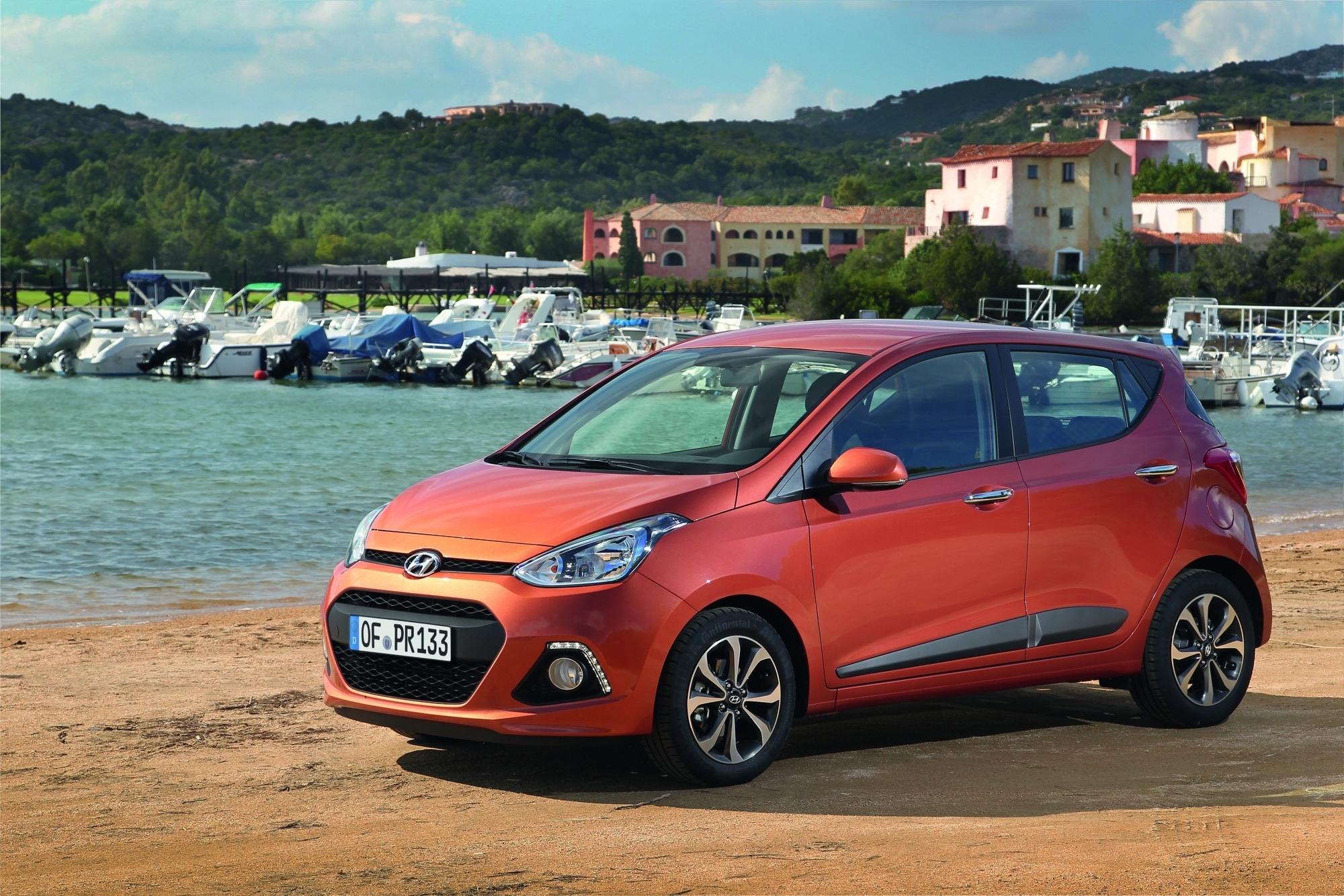 mid Groß-Gerau - Kleiner Farbtupfer vor malerischer Kulisse: Hyundai hat insgesamt 67 unterschiedliche Farbtöne im Angebot.