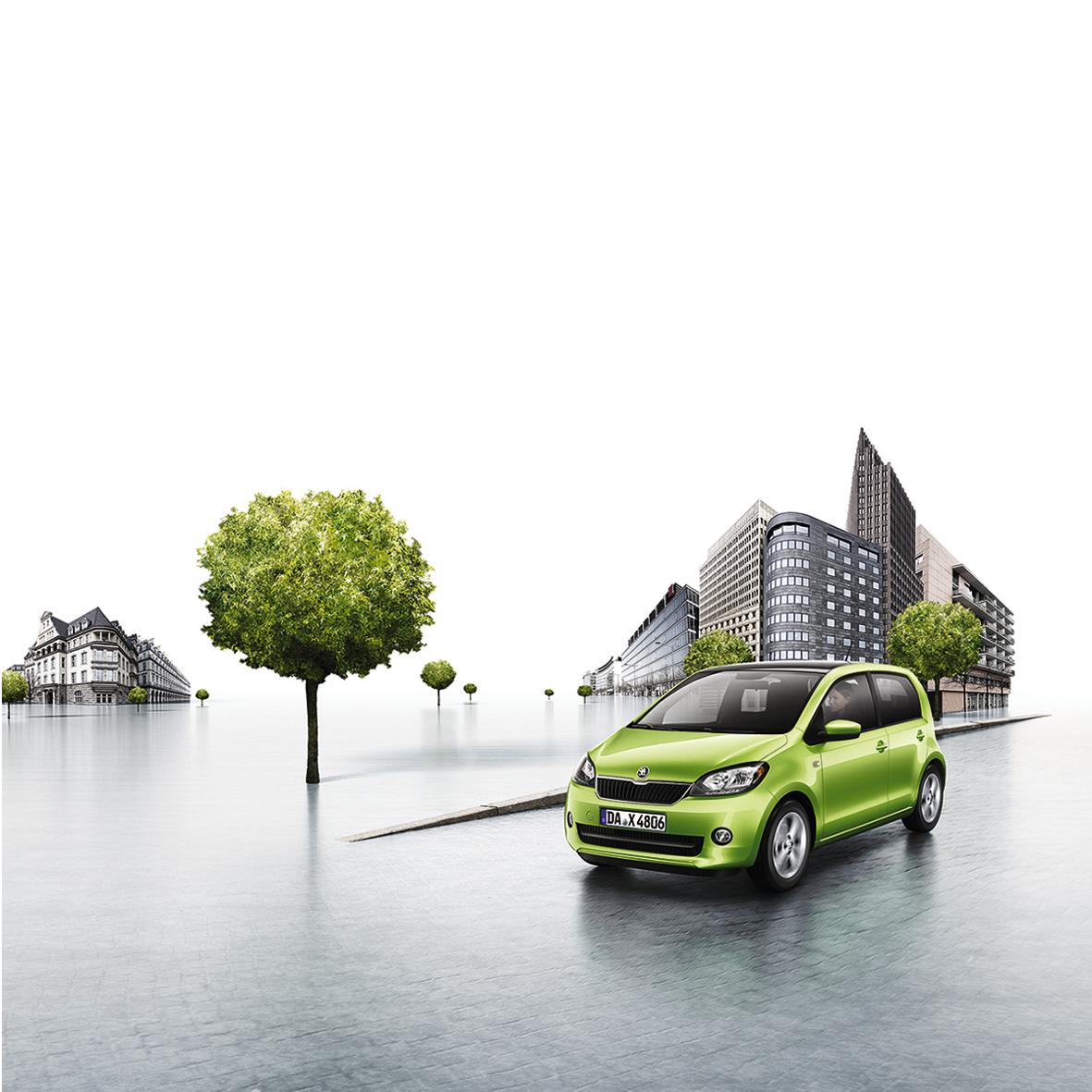 mid Groß-Gerau - Der Skoda Citigo ist ab sofort mit einer Klimaautomatik bestellbar.