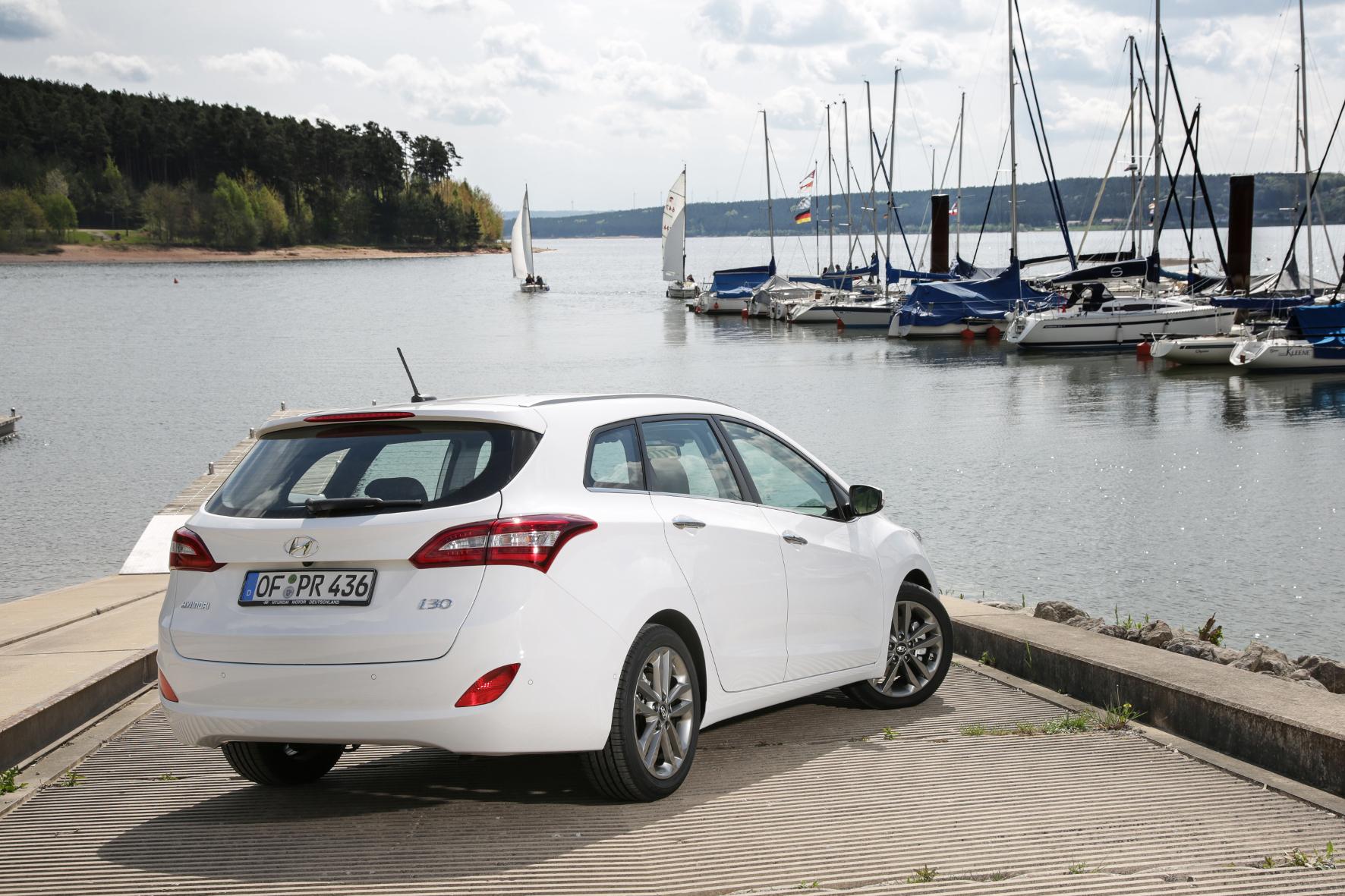 mid Groß-Gerau - Diese Urlaubsfahrt hat sich der Hyundai i30 Kombi verdient. Im Dauertest überzeugt der kompakte Koreaner auf der ganzen Linie.