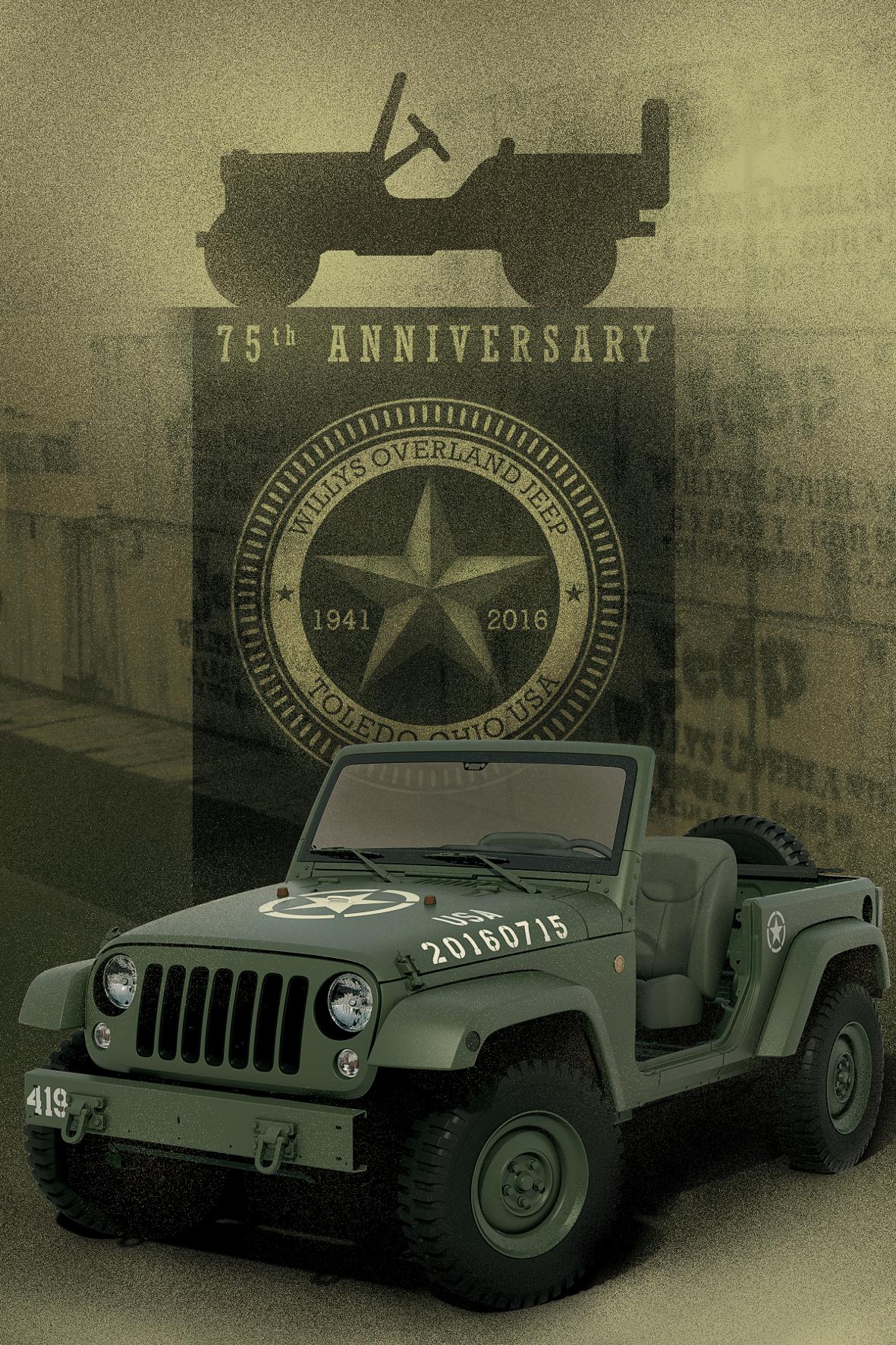 mid Wörth - 75 Jahre und kein bisschen müde: Jeep feiert in diesem Jahr Jubiläum.