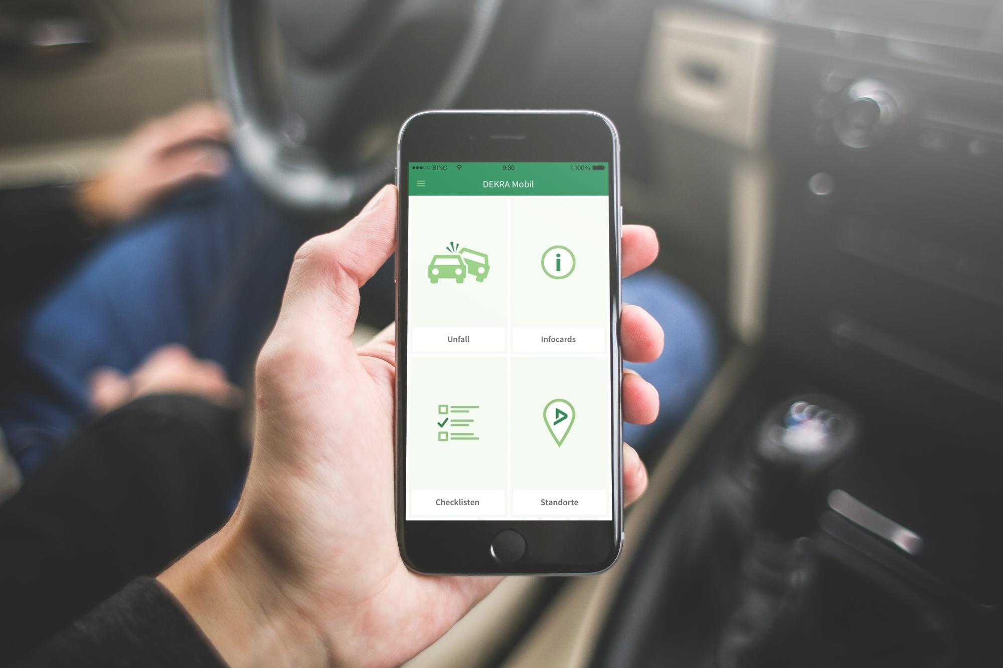 mid Groß-Gerau - Die App für alle Fälle: Ob Urlaubsplanung, Panne oder die anstehende Hauptuntersuchung, die Dekra Mobil App weiß Rat.