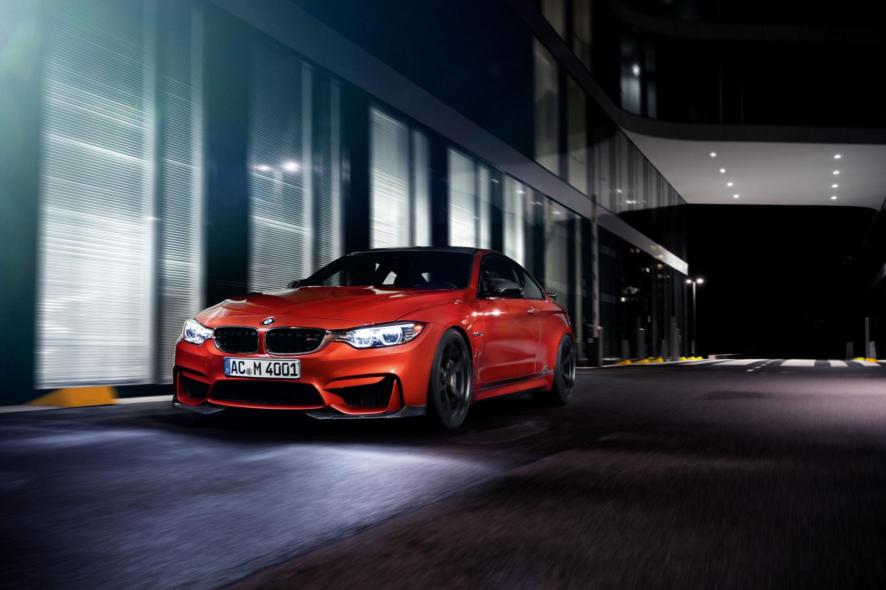 mid Groß-Gerau - Kraftkur für das Münchner Sportmodell: AC Schnitzer beflügelt BMW M3 und M4 und steigert die Leistung des doppelt aufgeladenen Reihensechszylinders auf 510 PS.