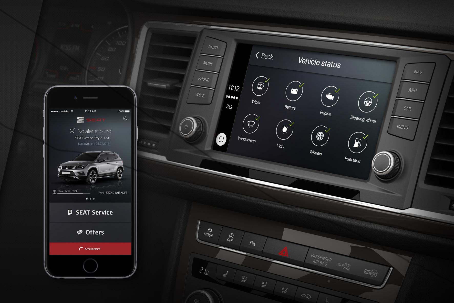 mid Groß-Gerau - Fertig zum Laden: Die für iOS entwickelte DriveApp von Autobauer Seat steht ab sofort im App Store zum Download bereit.