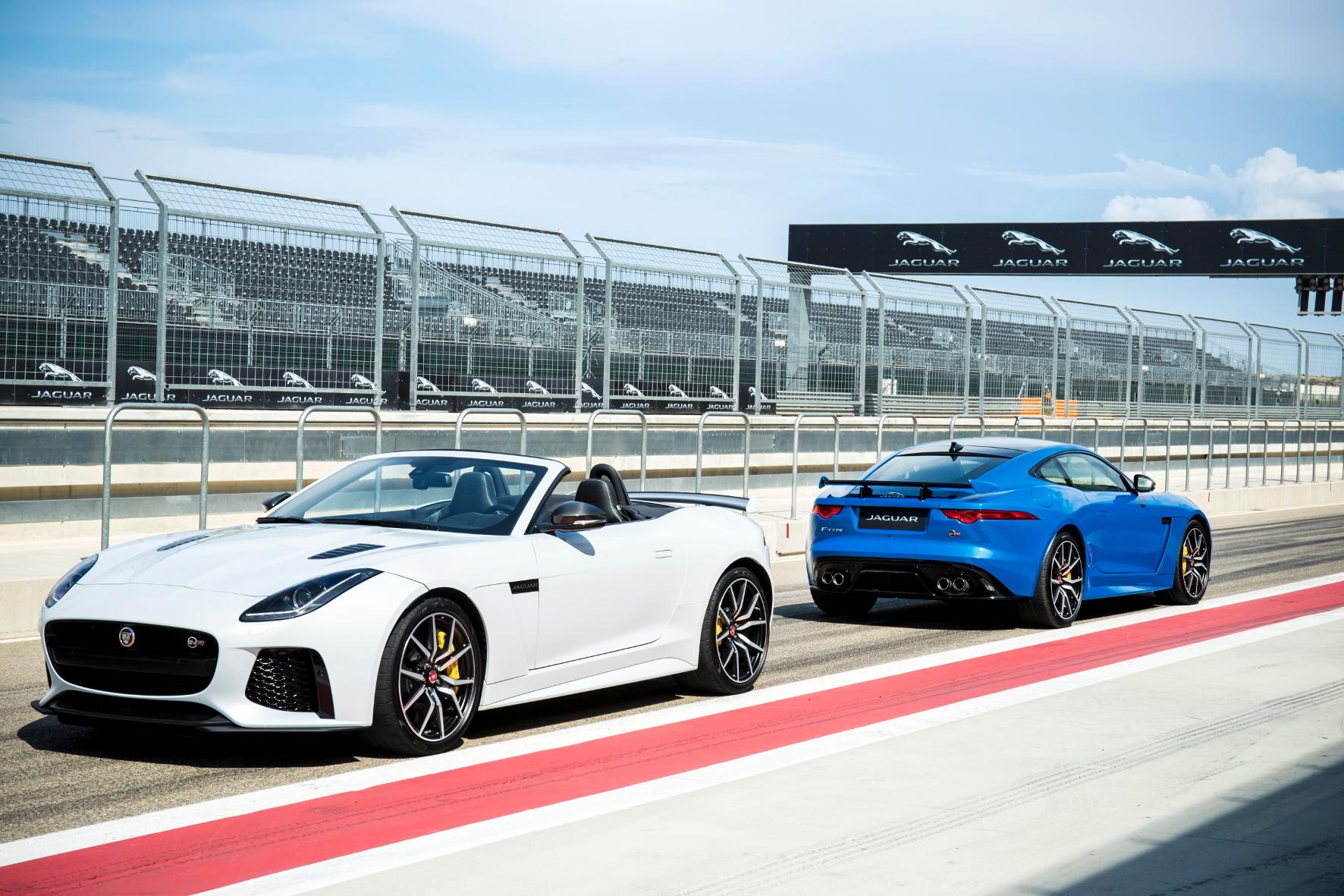 mid Adenau - Raubkatze mit geschärften Krallen: Die SVR-Variante des Jaguar F-Type ist das bislang schnellste und stärkste Modell der Marken-Historie.