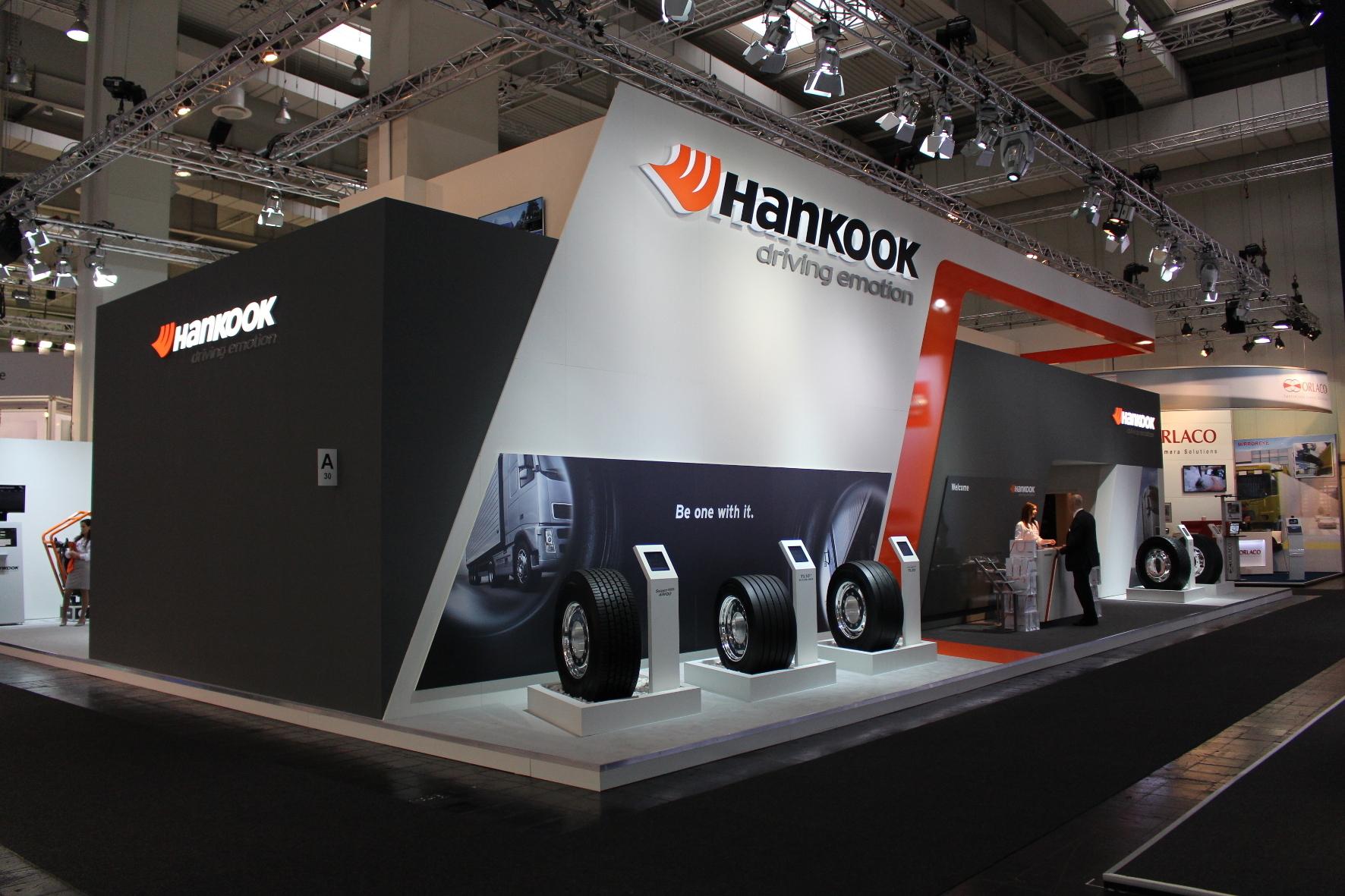 mid Groß-Gerau - Bei Hankook dreht sich alles um Reifen: Der Hersteller präsentiert jetzt auf der IAA Nutzfahrzeuge in Hannover erstmals Reifen speziell für Fernbusse.