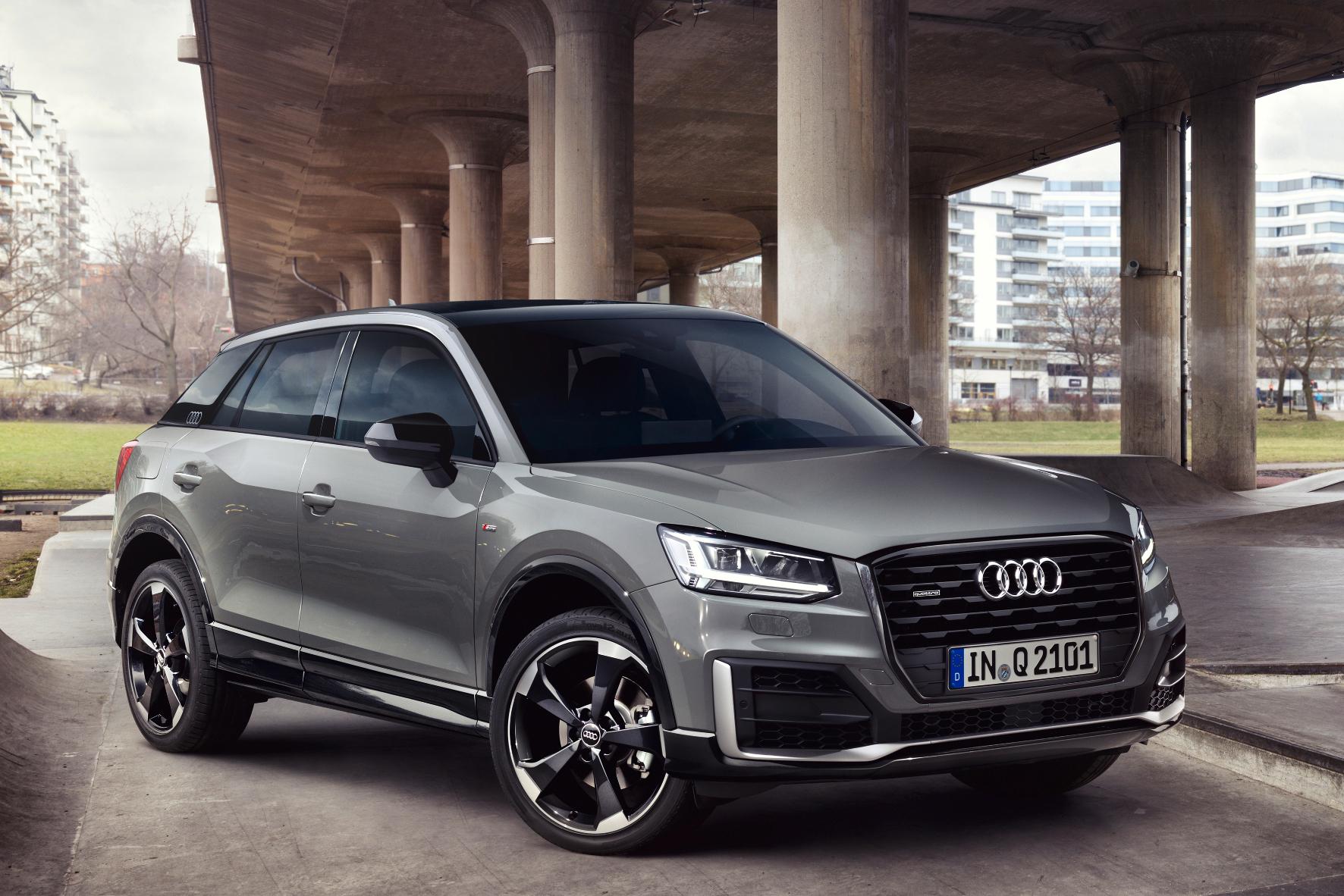 """mid Groß-Gerau - """"Edition #1"""" heißt das Sondermodell des Q2, das Audi anlässlich des Marktstarts des Kompakt-SUV im Spätherbst präsentiert."""