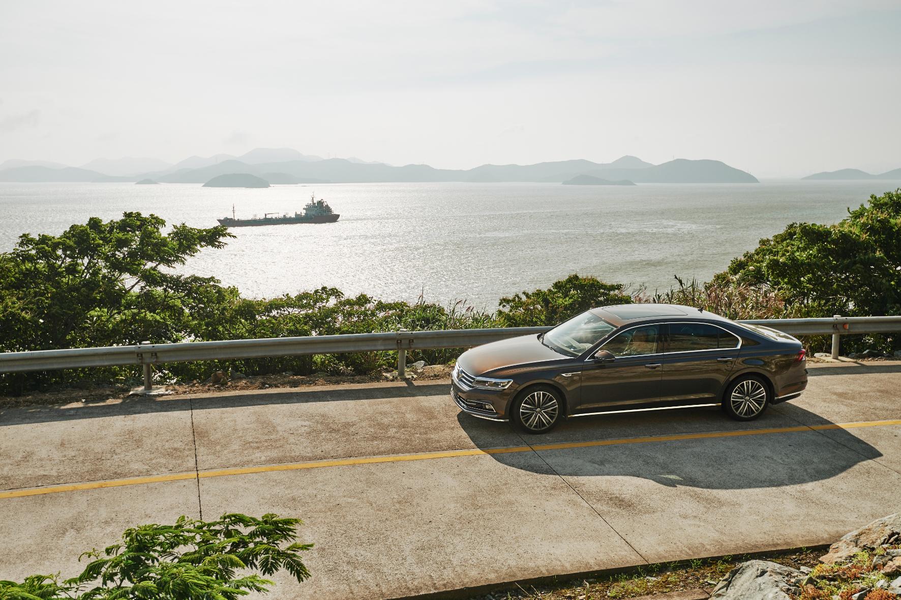 """mid Shanghai - """"Phideon"""" der Eroberer: Mit einer Oberklasse-Limousine will VW auf dem chinesischen Automarkt durchstarten."""
