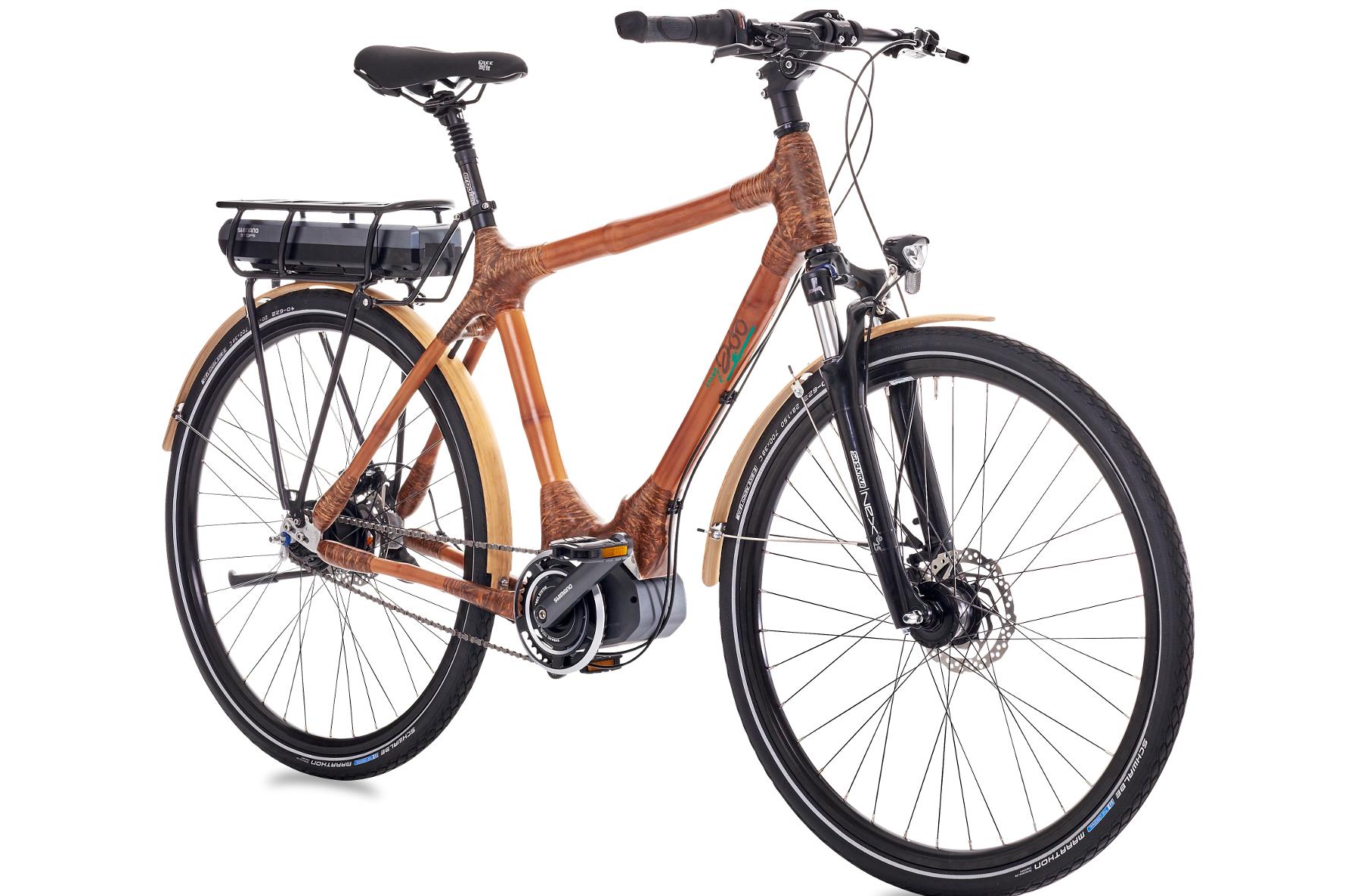mid Groß-Gerau - my Volta: Die Fahrräder mit den in Ghana gefertigten Bambusrahmen gibt es bei my Boo jetzt auch als Pedelec.