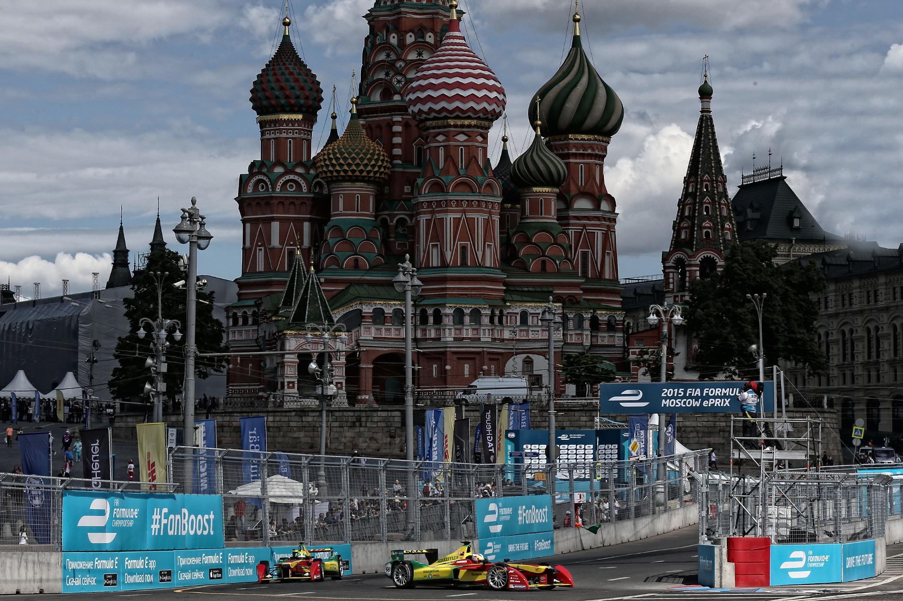 mid Groß-Gerau - Eine Rennserie für die Metropolen der Welt: Sogar auf dem Roten Platz in Moskau hat die Formel E bereits ihre Runden gedreht.