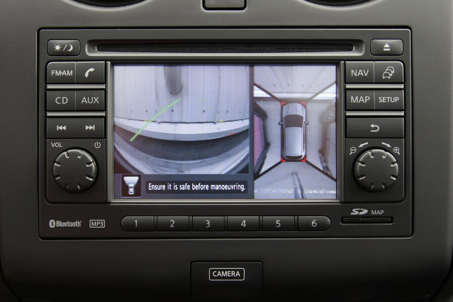mid Groß-Gerau - Nackenschonung auf japanisch: Nissan legt nun die N-Vision-Sondermodelle auf, die serienmäßig einen 360-Grad-Rundumsicht-Monitor an Bord haben.