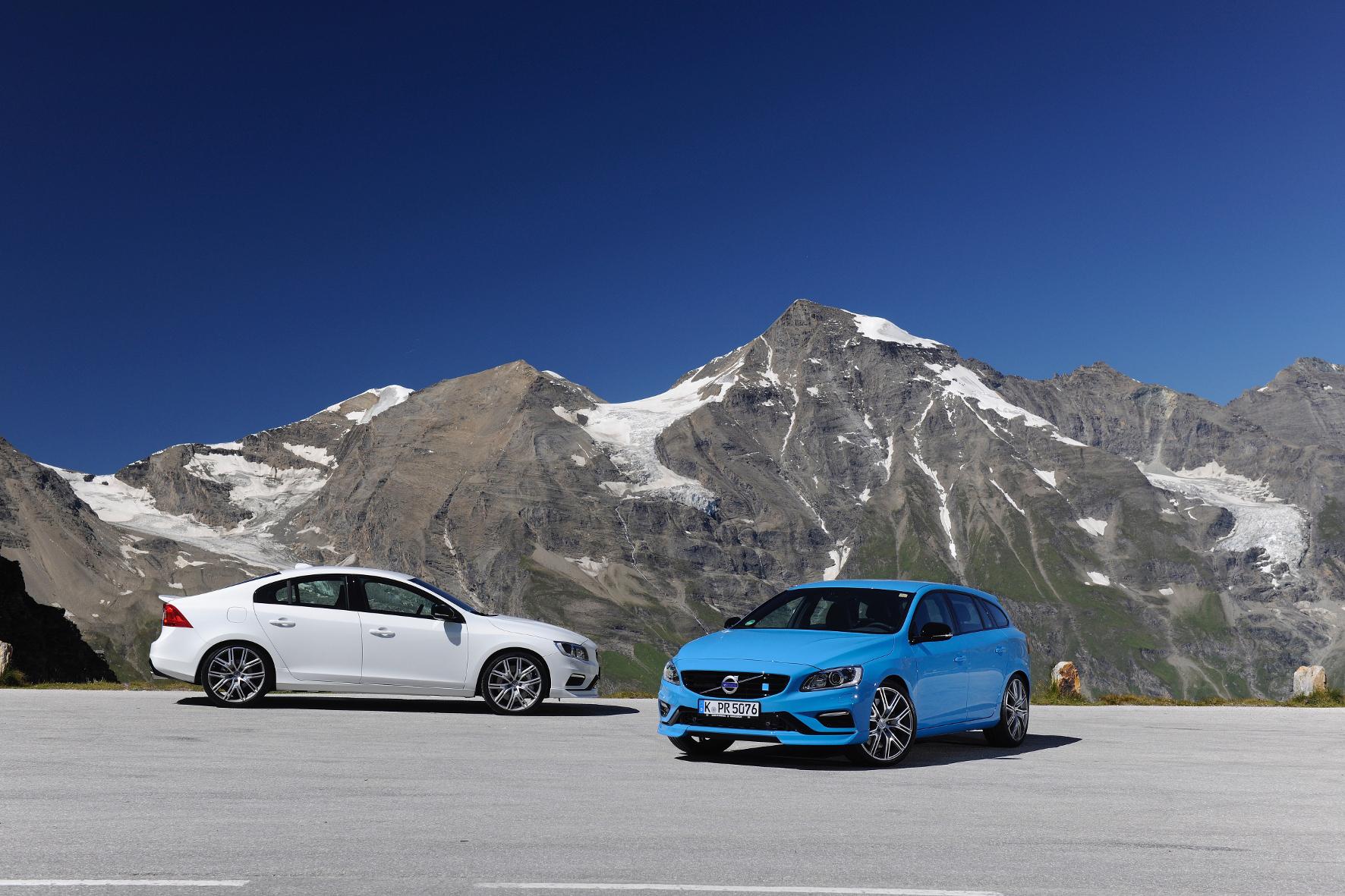 mid Kals - Schnelle Volvos: Die Polestar-Versionen der Mittelklässler S60 und V60 sind laut der Schweden die schnellsten Modelle der Unternehmensgeschichte.