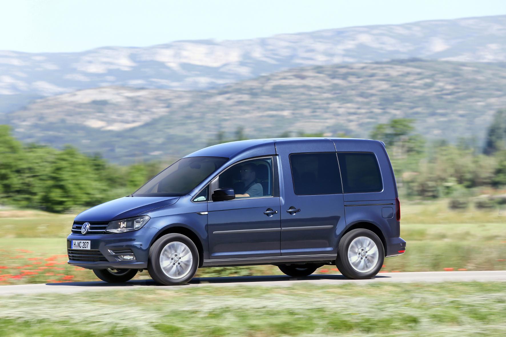 mid Groß-Gerau - Auch der VW Caddy bleibt vom Rückruf für die Erdgas-Modelle nicht verschont.