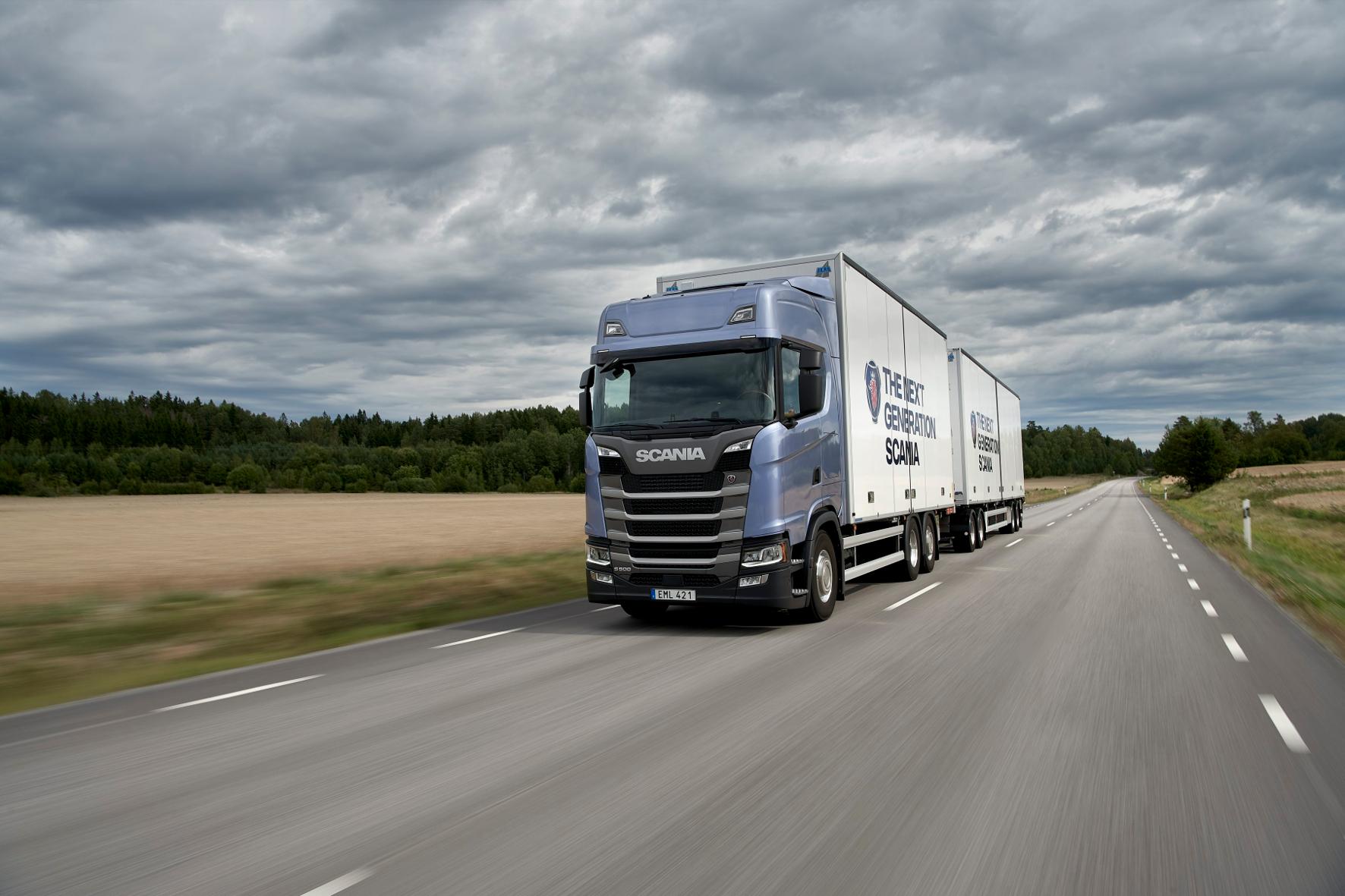 mid Groß-Gerau - Scania's next Generation: Eine komplett neuentwickelte Fahrzeugfamilie, die eine Ähnlichkeit mit den Vorgängermodellen nicht verleugnen kann