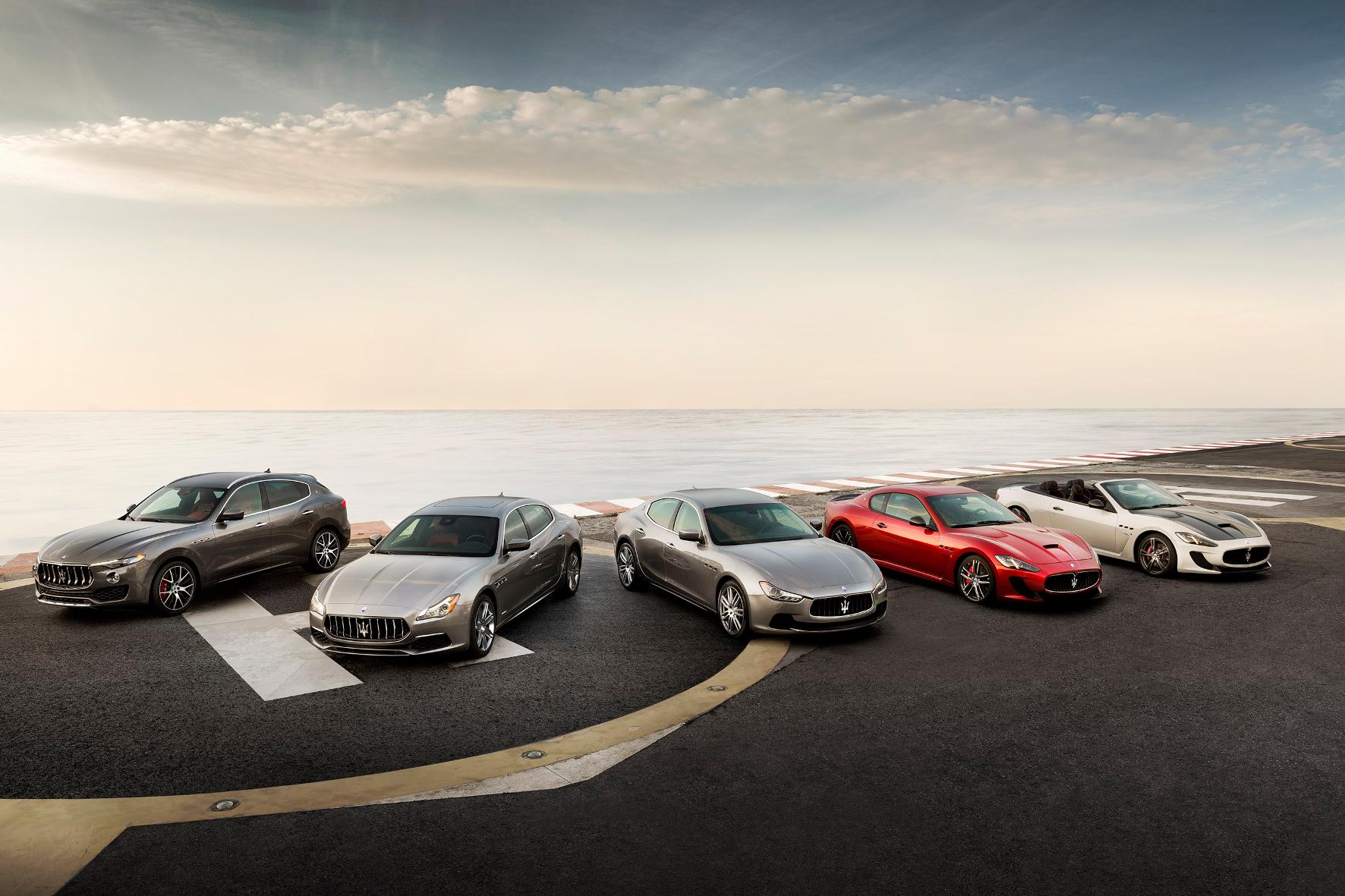 mid Groß-Gerau - Maserati schwimmt in Deutschland auf der Erfolgswelle.