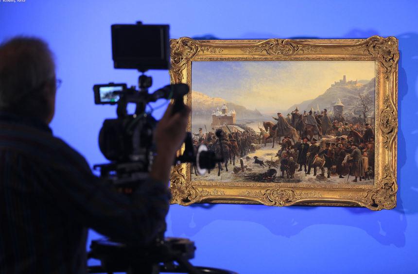 Ausstellung zum rhein in bonn mannheimer morgen for Newsticker spiegel