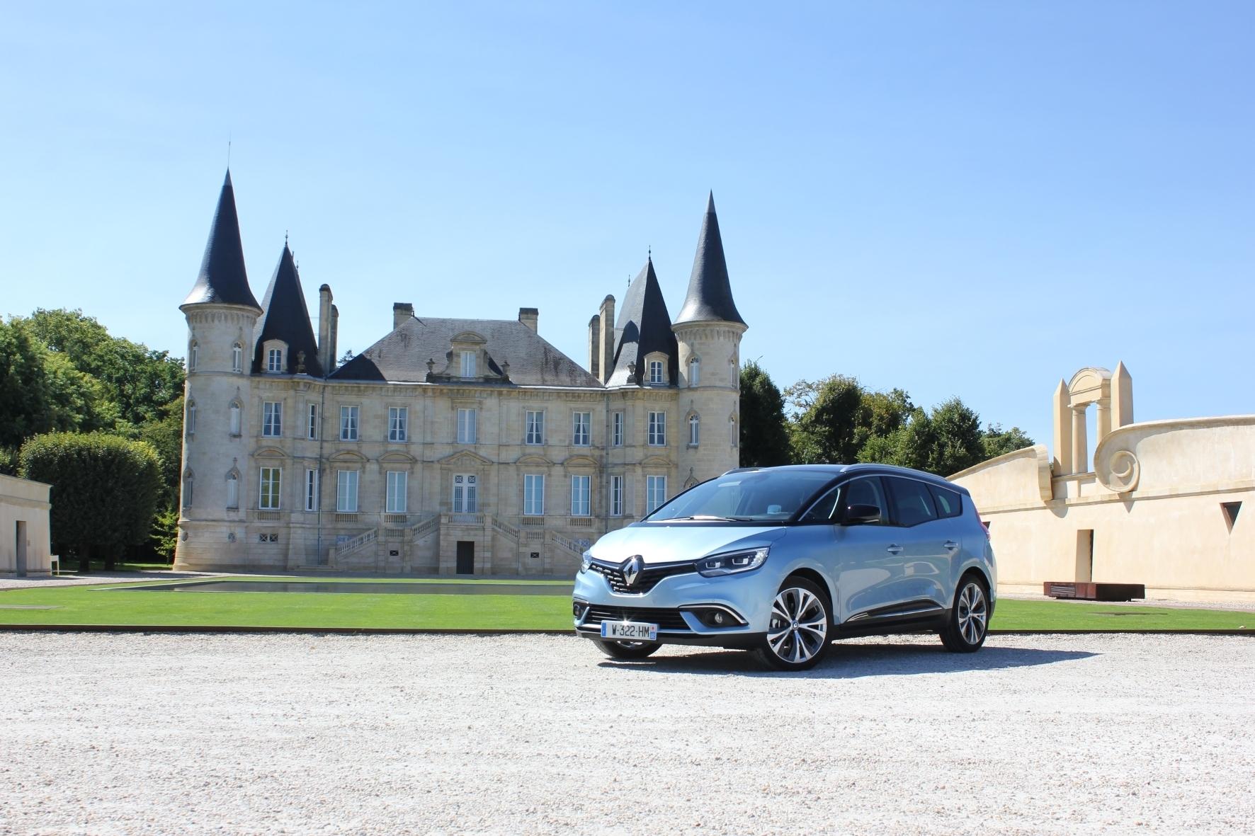 mid Bordeaux - Avantgarde auf Rädern: der neue Renault Grand Scenic.
