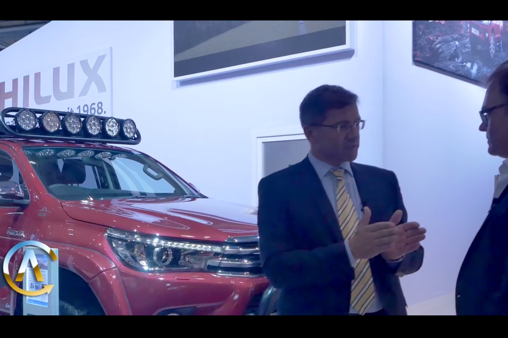 mid Hannover - Volker Hirth (Der Autotest) interviewt Thomas Schalberger, General Manager Public Relations & Press von Toyota Deutschland.