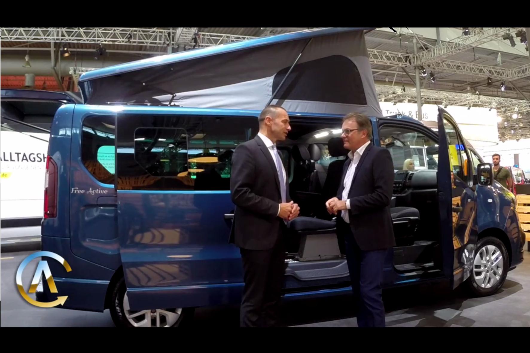 mid Hannover - Volker Hirth (Der Autotest) interviewt Opel Deutschland Chef Jürgen Keller.