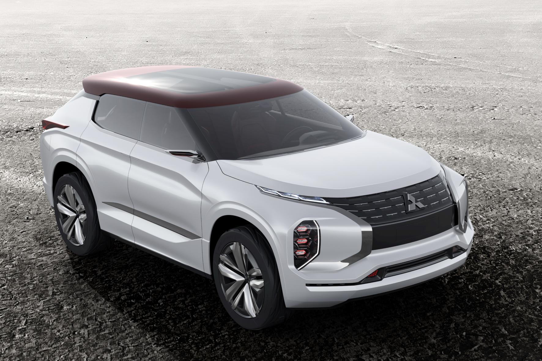 mid Groß-Gerau - Sportlicher Outlander-Nachfolger: Die Hybrid-Studie GT-PHEV Concept erlebt auf dem Mitsubishi Messestand beim Pariser Salon ihre Weltpremiere.