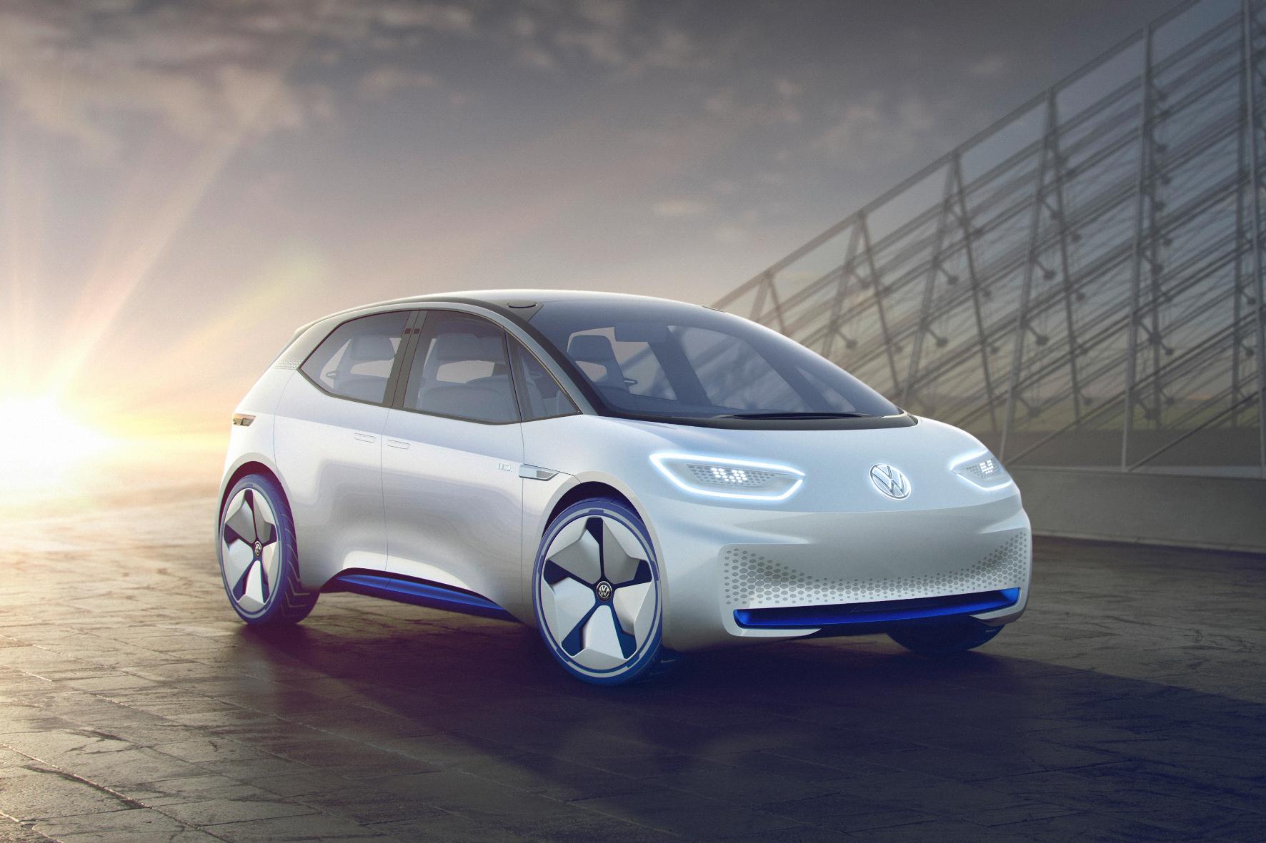 Paris - Der I.D. soll's richten: VW skizziert die Zukunft nun ebenfalls elektrisch
